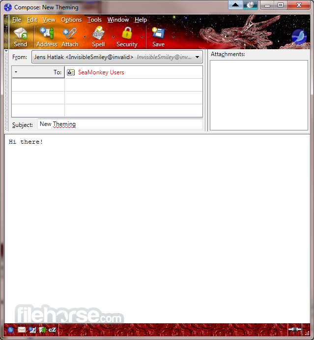 SeaMonkey Screenshot 5