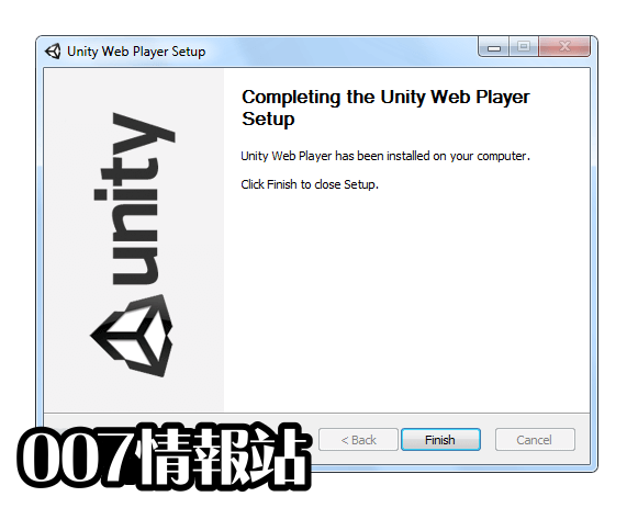 Unity Web Player (32-bit) Screenshot 3