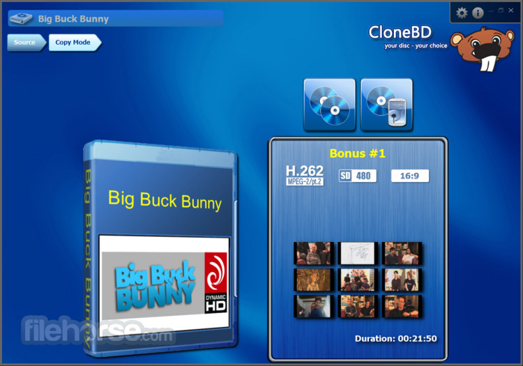 CloneBD Screenshot 2