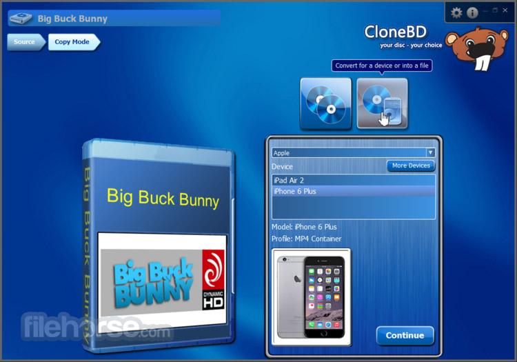 CloneBD Screenshot 4