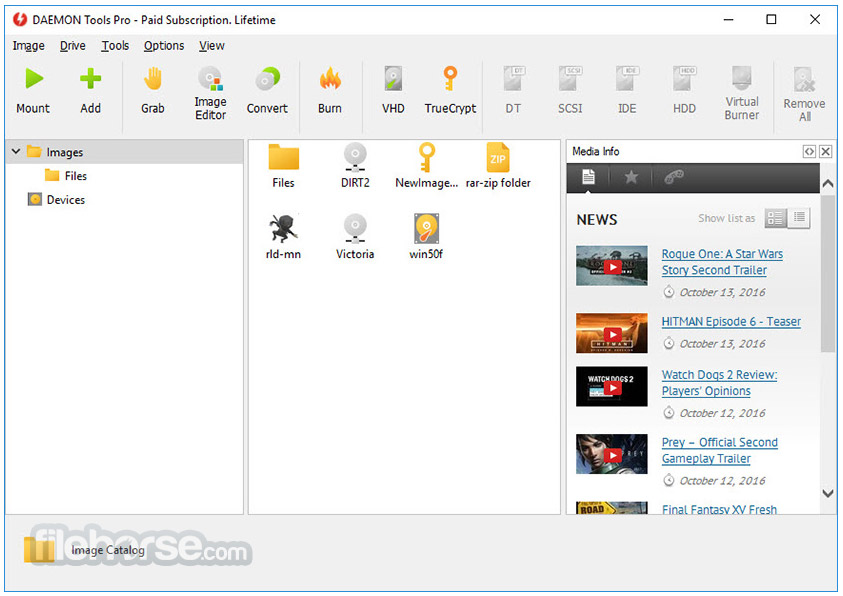 DAEMON Tools Pro Screenshot 3
