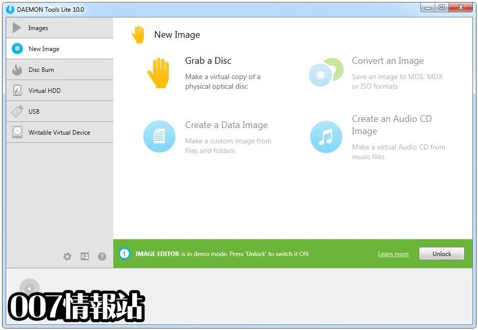 DAEMON Tools Lite Screenshot 2