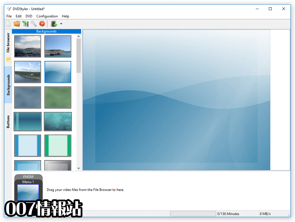 DVDStyler (64-bit) Screenshot 2