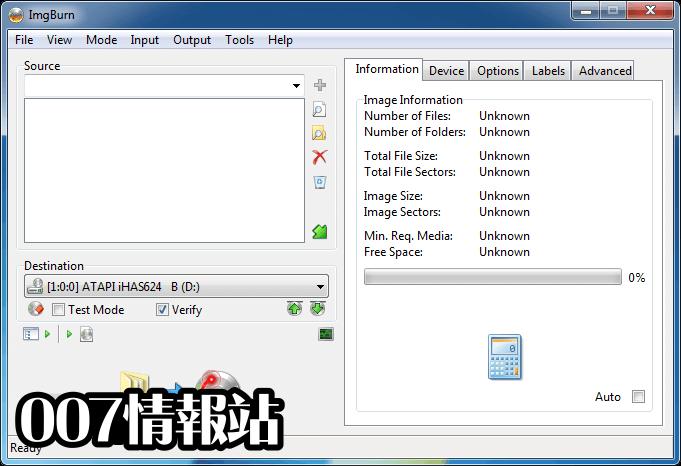 ImgBurn Screenshot 3
