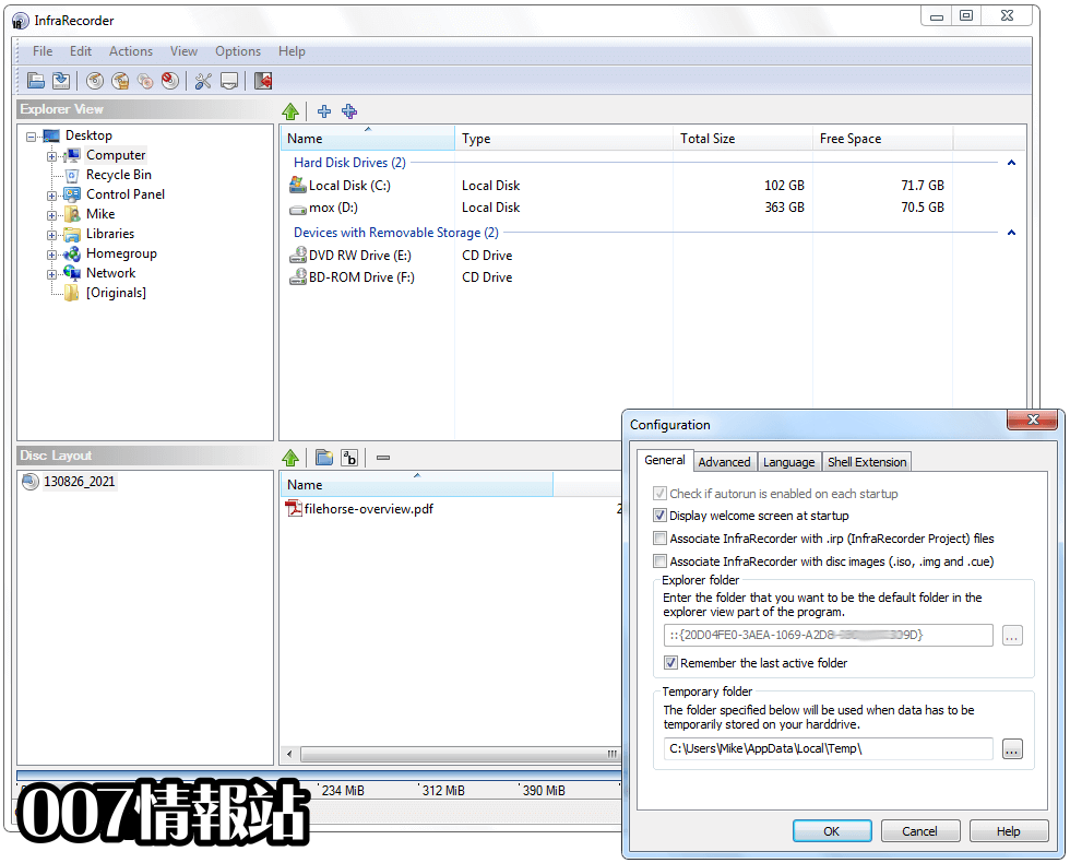 InfraRecorder (64-bit) Screenshot 4