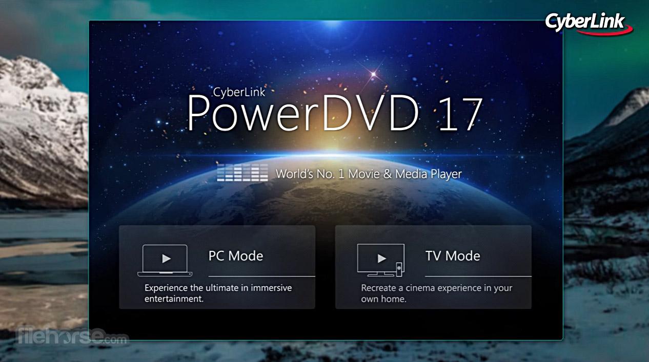 PowerDVD Screenshot 1