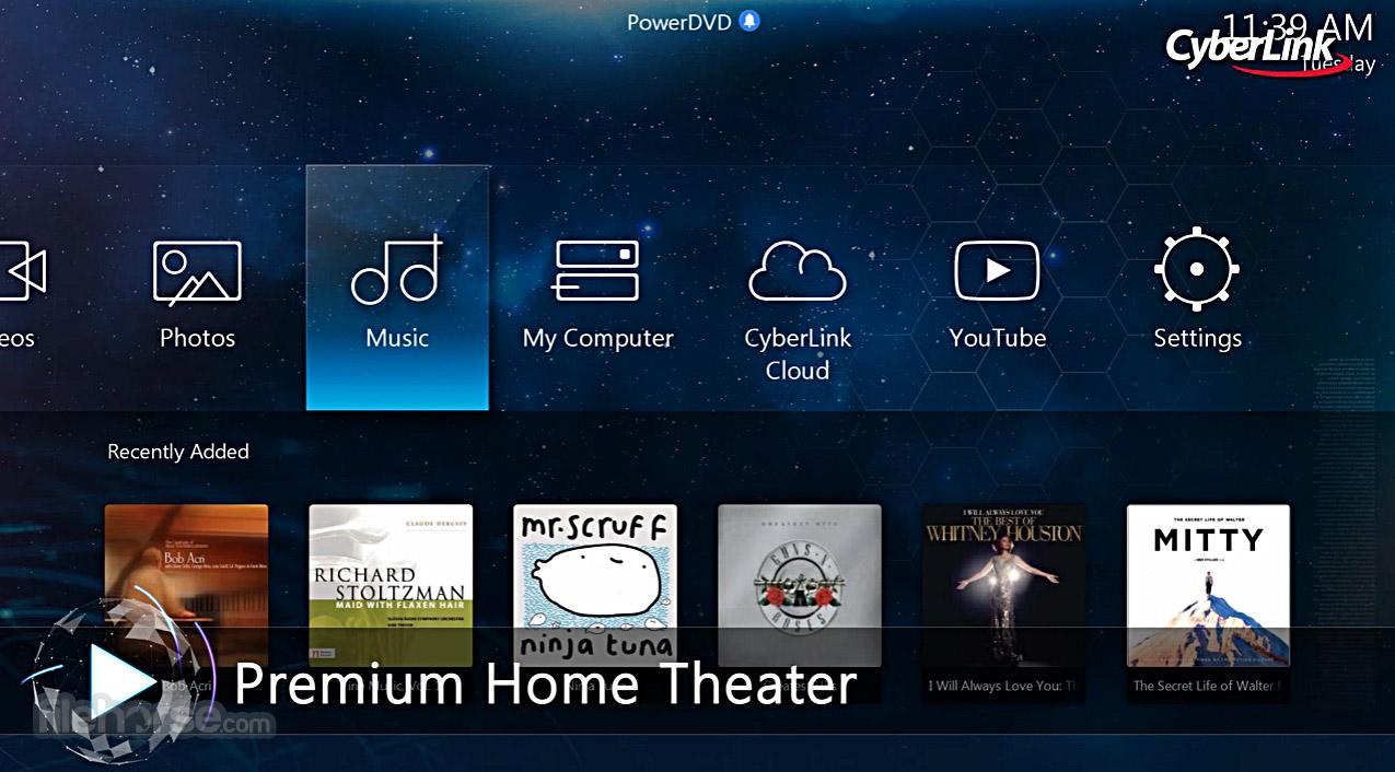 PowerDVD Screenshot 5