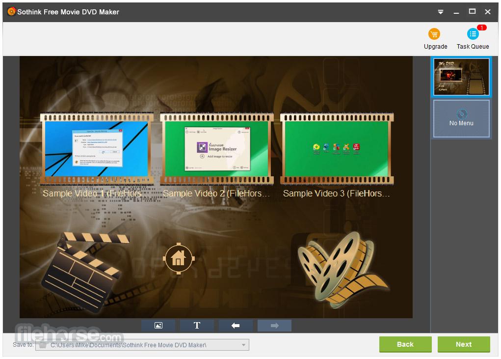 Sothink Free Movie DVD Maker Screenshot 4