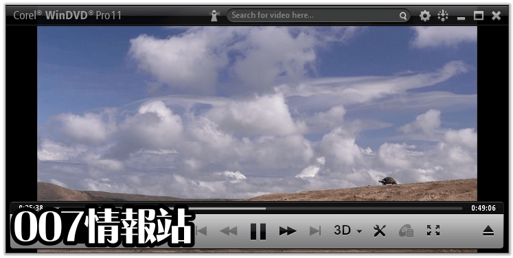 WinDVD Pro Screenshot 2