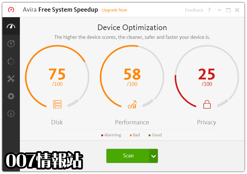 Avira System Speedup Screenshot 1