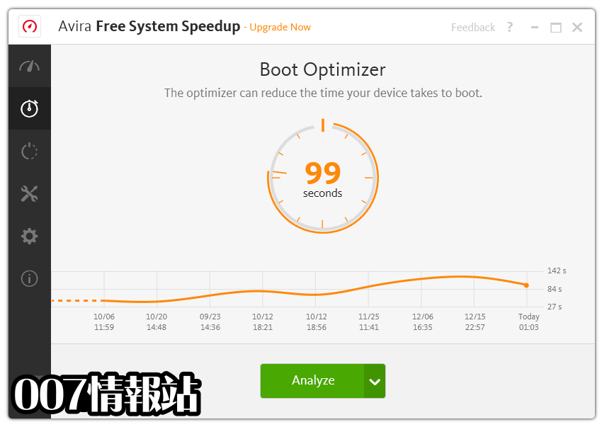 Avira System Speedup Screenshot 4