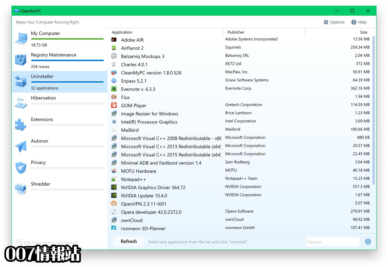 CleanMyPC Screenshot 3