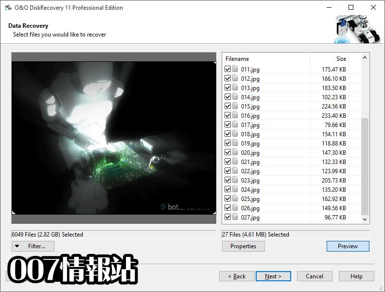 O&O DiskRecovery Professional Edition (32-bit) Screenshot 5