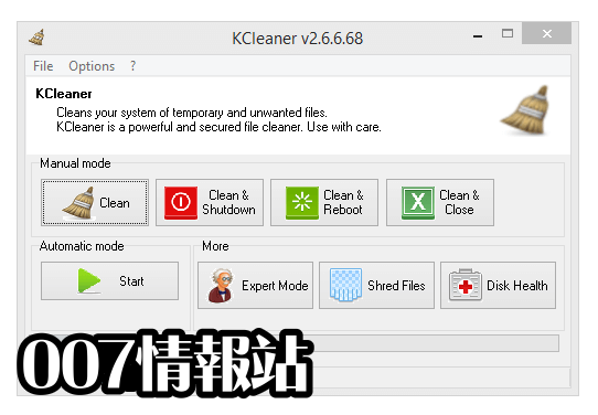 KCleaner Screenshot 1
