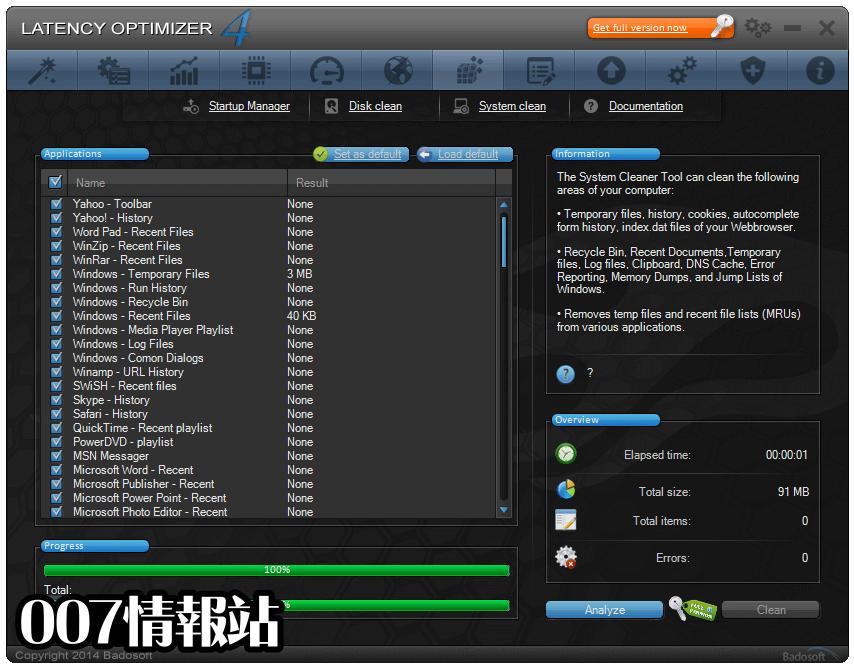 Latency Optimizer Screenshot 4