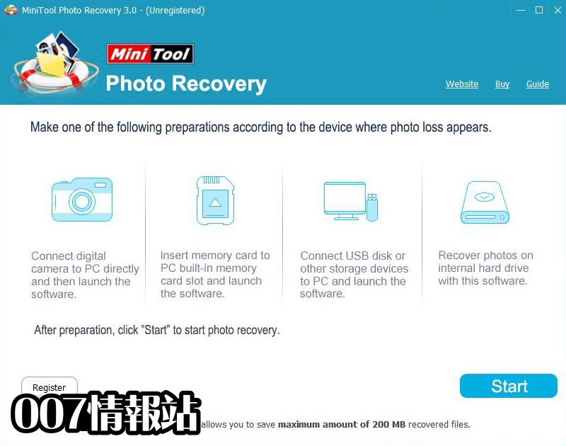 MiniTool Photo Recovery Screenshot 1