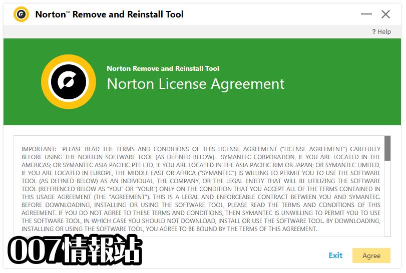 Norton Remove and Reinstall Tool Screenshot 1