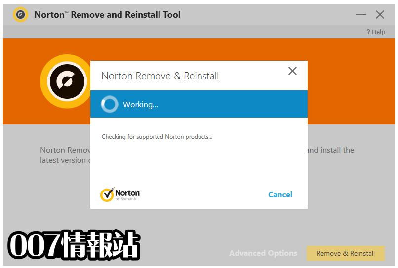 Norton Remove and Reinstall Tool Screenshot 4