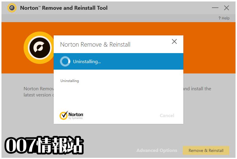 Norton Remove and Reinstall Tool Screenshot 5