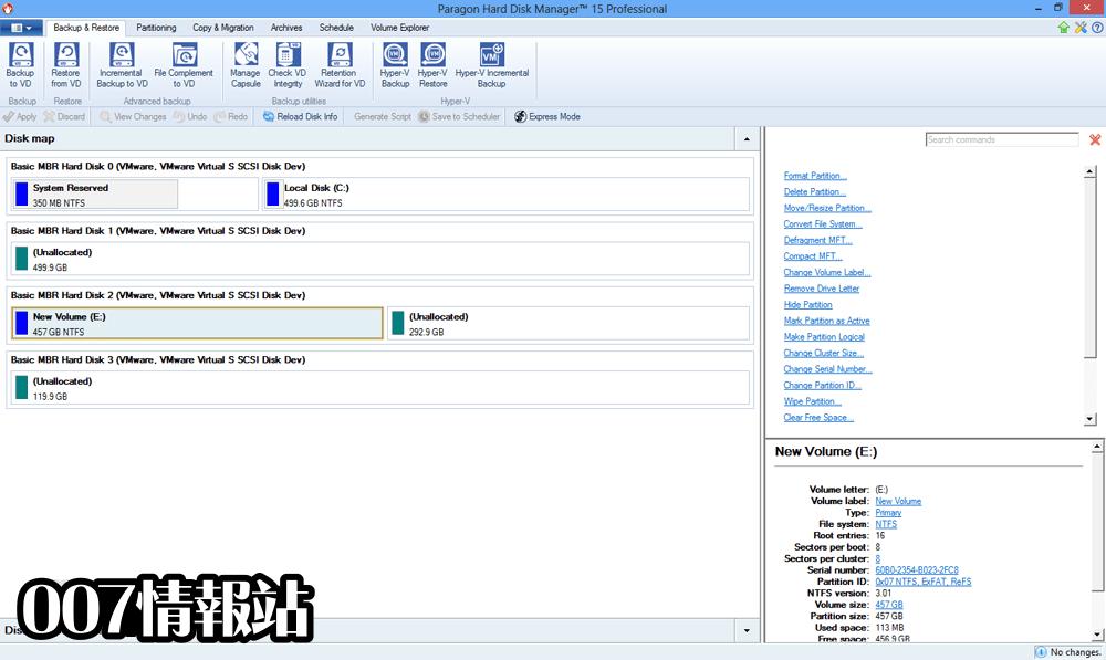 Paragon Hard Disk Manager (32-bit) Screenshot 2