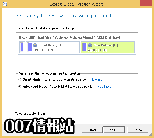 Paragon Partition Manager Professional (32-bit) Screenshot 3