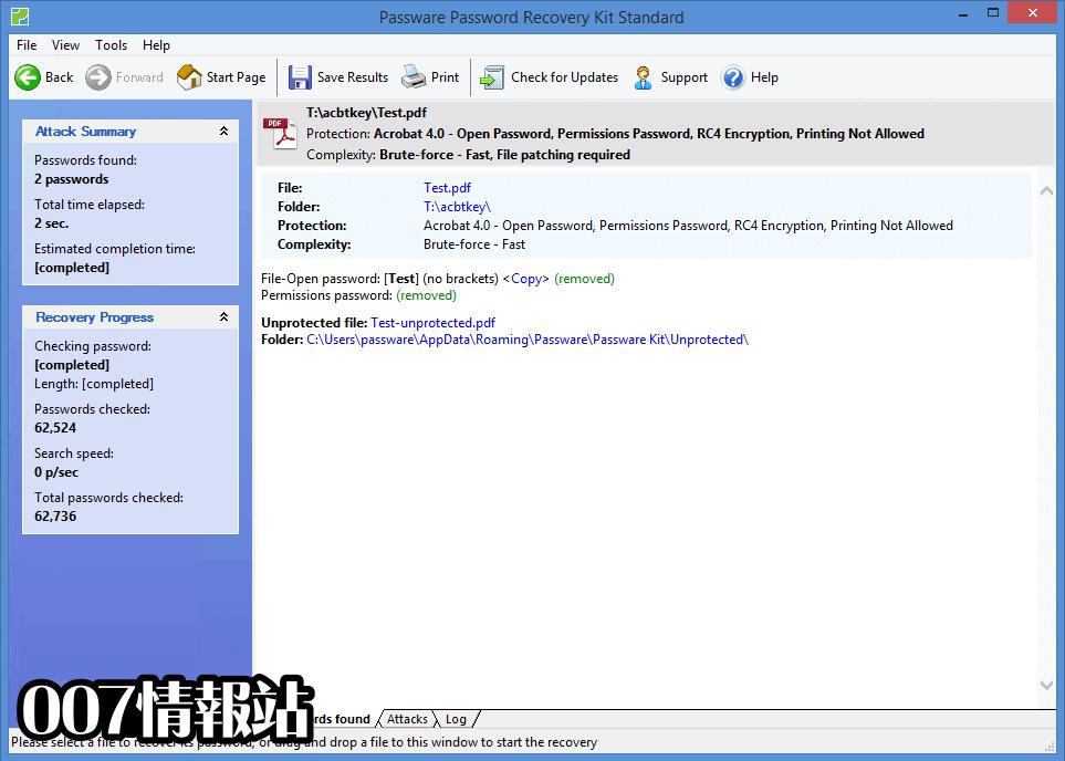 Passware Password Recovery Kit Standard Screenshot 2