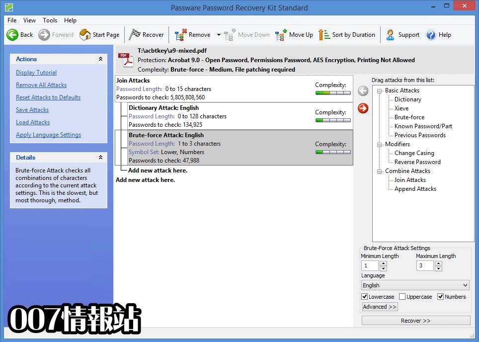 Passware Password Recovery Kit Standard Screenshot 3