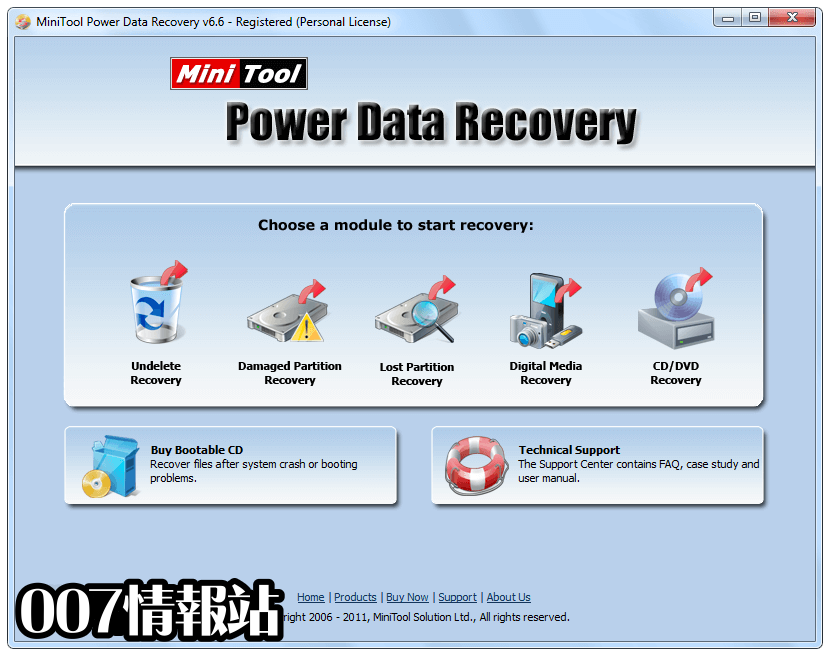 MiniTool Power Data Recovery Free Screenshot 1
