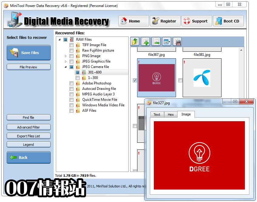 MiniTool Power Data Recovery Free Screenshot 4