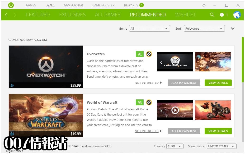 Razer Cortex Screenshot 1