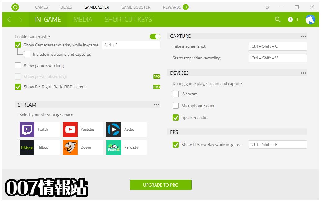Razer Cortex Screenshot 2