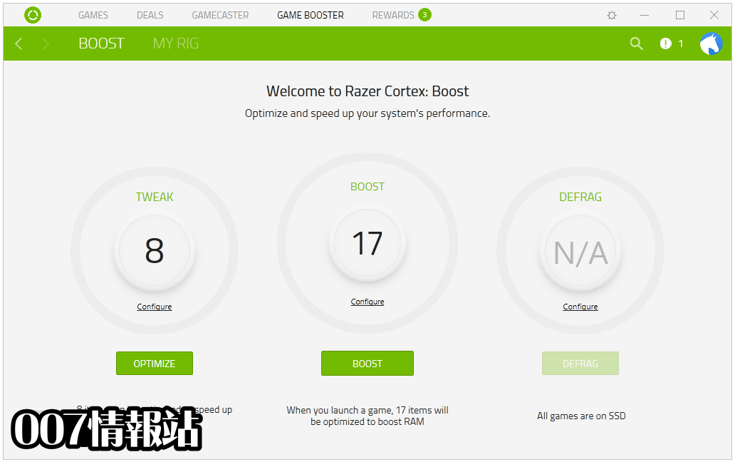Razer Cortex Screenshot 3