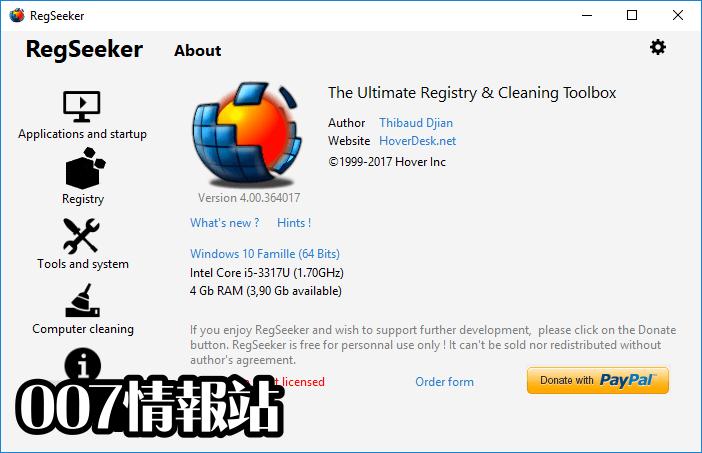 RegSeeker Screenshot 1