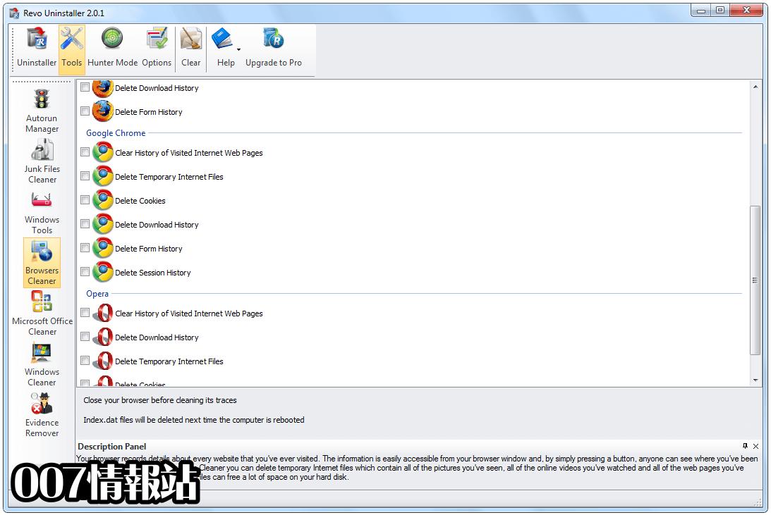 Revo Uninstaller Free Screenshot 4