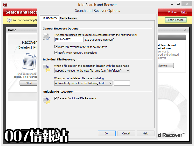 Search and Recover Screenshot 5