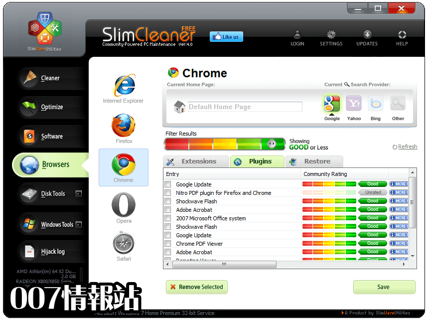 SlimCleaner Free Screenshot 3