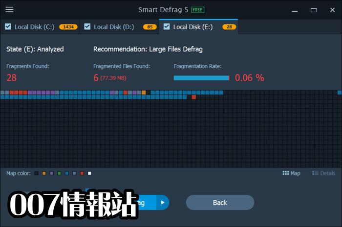 Smart Defrag Screenshot 3