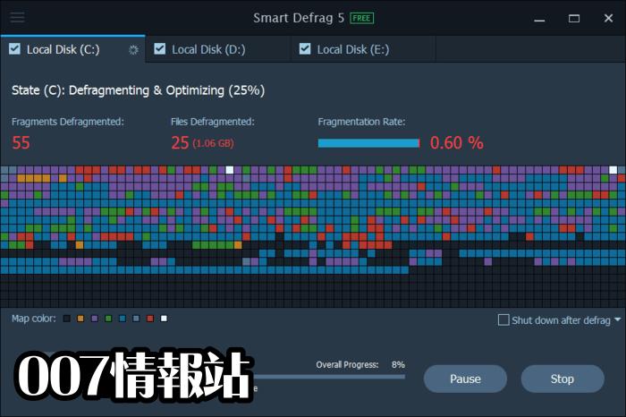 Smart Defrag Screenshot 5