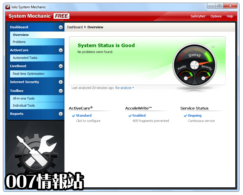 System Mechanic Free Screenshot 1
