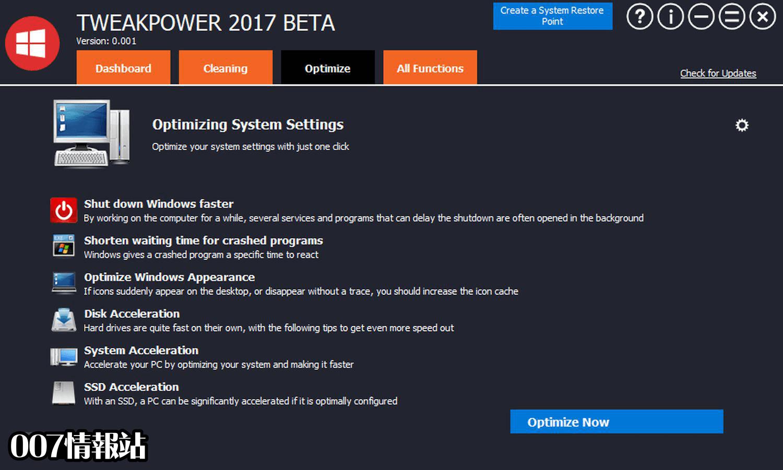 TweakPower Screenshot 3