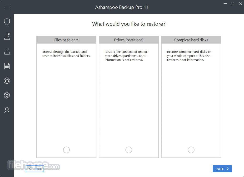 Ashampoo Backup Pro Screenshot 3