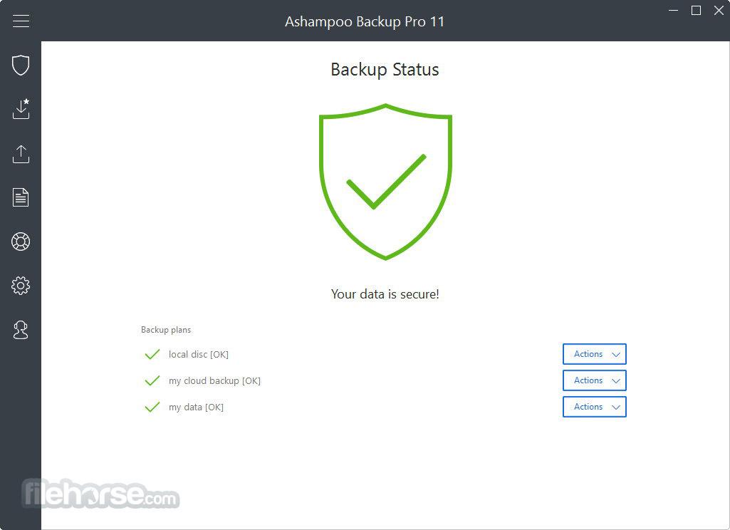 Ashampoo Backup Pro Screenshot 4