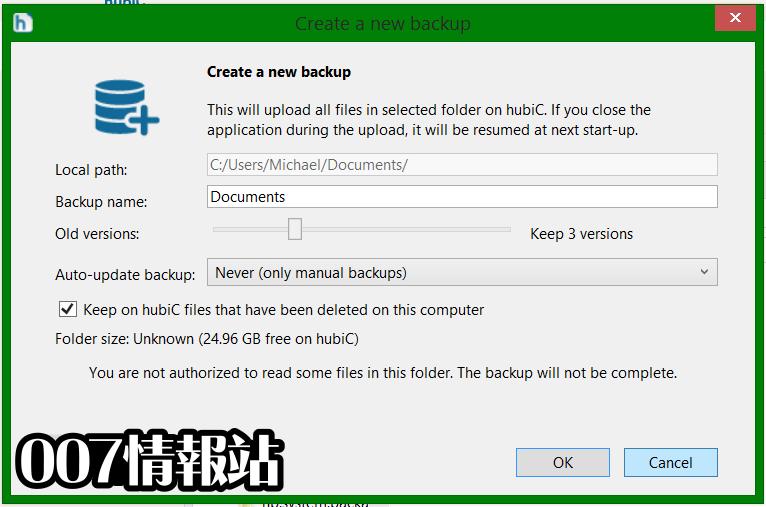 hubiC Screenshot 3