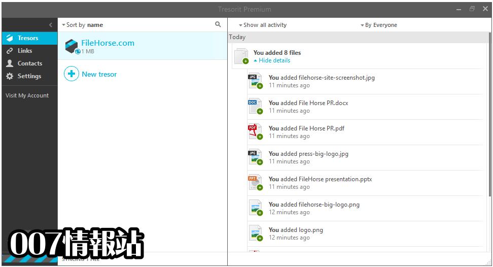Tresorit Screenshot 2