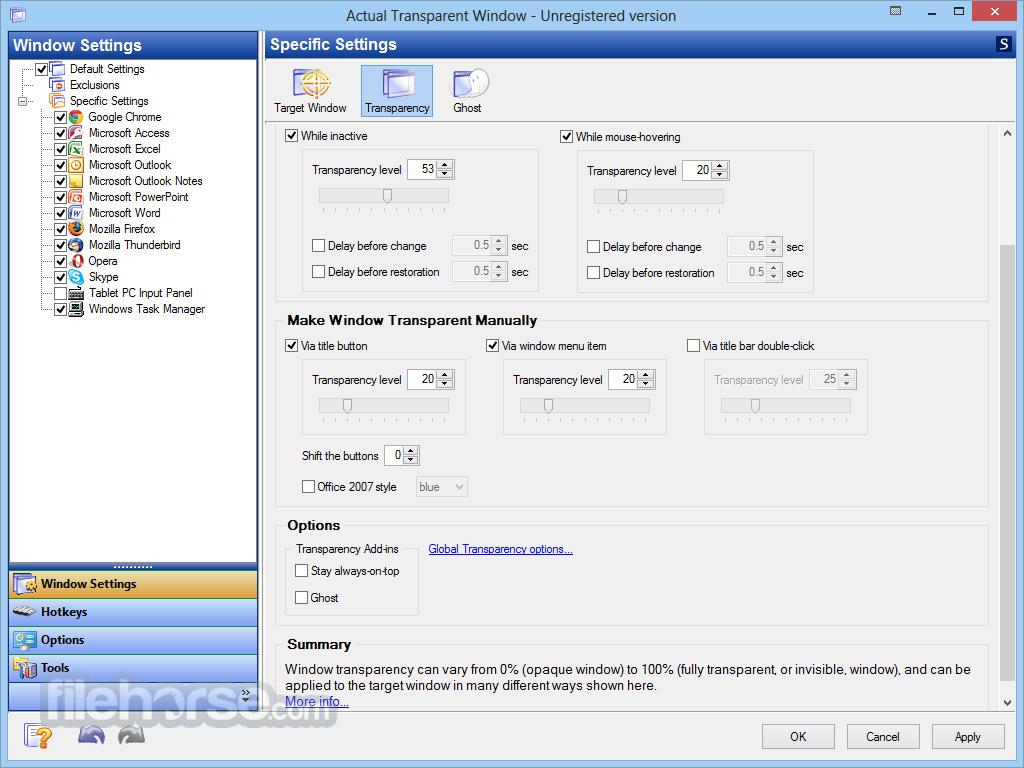 Actual Transparent Window Screenshot 2