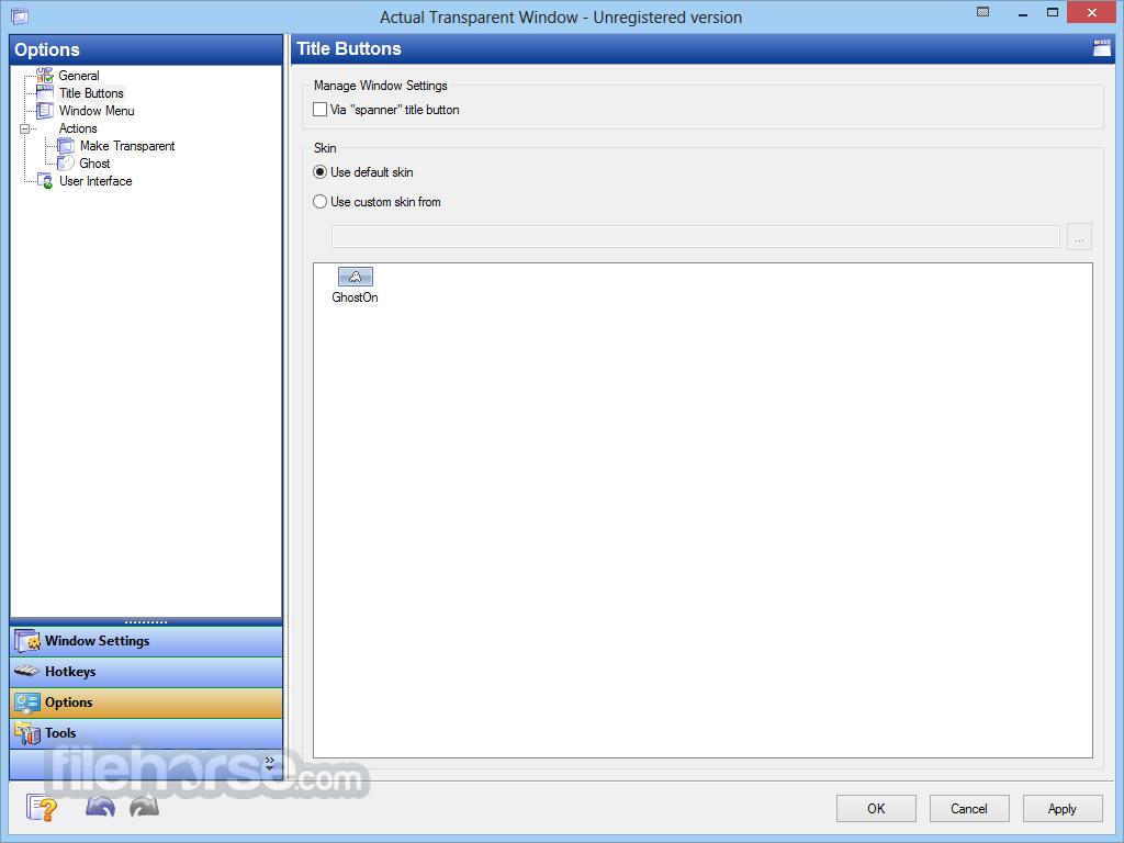 Actual Transparent Window Screenshot 4