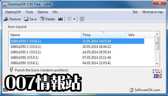 DesktopOK (64-bit) Screenshot 2