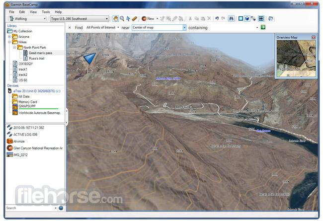 Garmin BaseCamp Screenshot 2