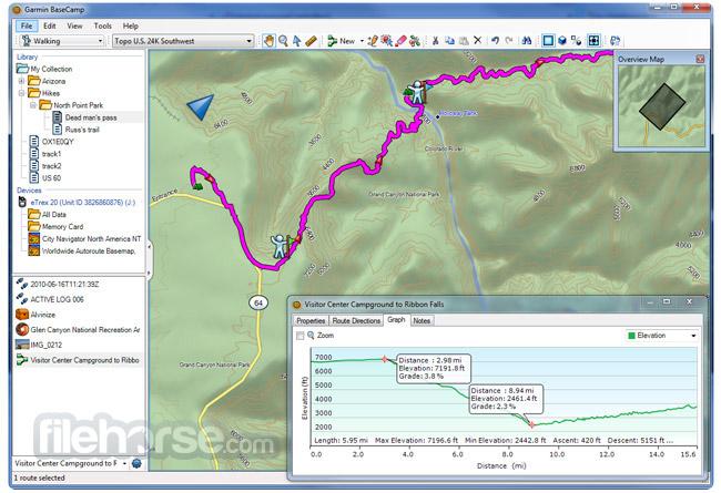 Garmin BaseCamp Screenshot 3