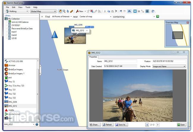 Garmin BaseCamp Screenshot 4